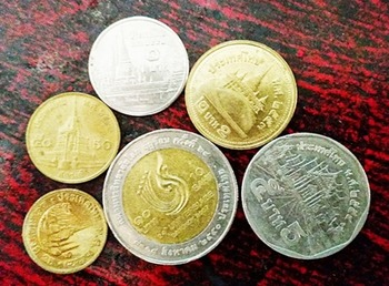 3 Sets of Thai Baht Coins ( Thai Currency)for Learning & Collecting