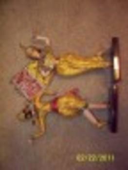 Thai Dancer Dolls Set of 2