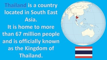 Thailand - A General Introduction