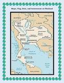 Thailand Geography Maps, Flag, Data, Assessment - Map Skills Data Analysis
