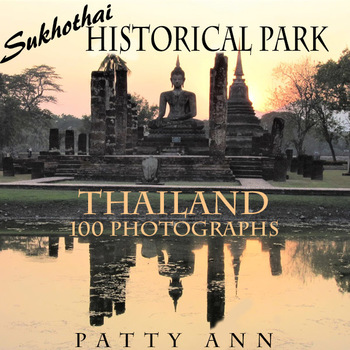 Clip Art * 100 Photographs: Thailand Sukhothai Historical Park 13-14th Century