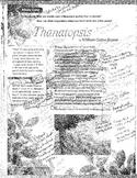Thanatopsis Analysis Talking to the Text