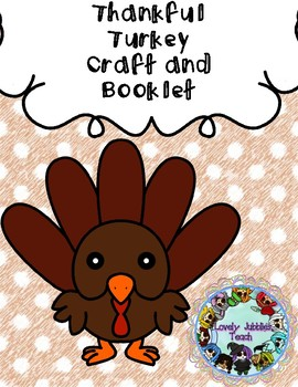 Thankful Turkey Booklet and Craft