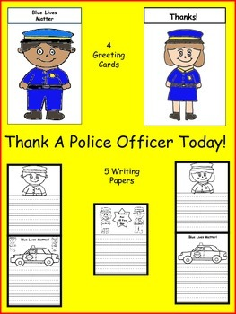 Thank A Police Officer