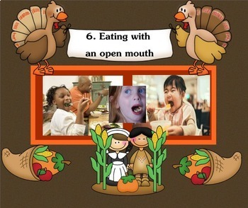 Thank Goodness for Table Manners: Top 10 Worst Manners SMARTboard lesson
