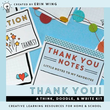 Thank You! A Think, Doodle and Write Kit
