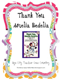 Thank You Amelia Bedelia - Idioms, nouns, adjectives, and center activity