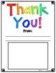 Thank You! Appreciation Printables