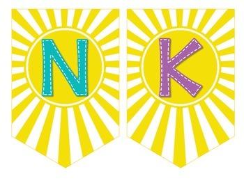 Thank You Banner FREEBIE   Volunteer Appreciation