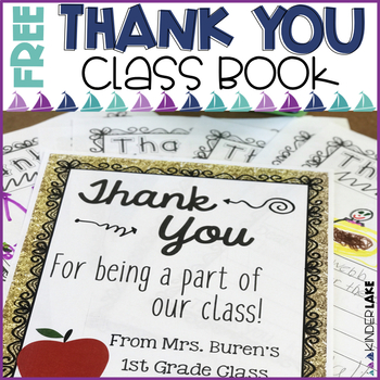 Thank You Book Freebie