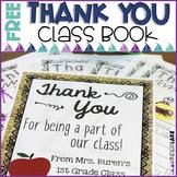 Thank You Book Freebie