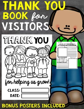 Thank You Book for Visitors