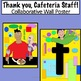 Thank You, Cafeteria Staff ! Collaborative Wall Poster FREE for a Limited Time