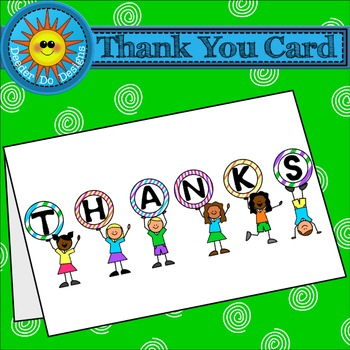 Thank You Card Freebie - Teacher Appreciation