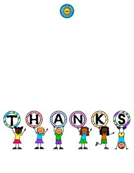 Thank You Card Freebie - Teacher Appreciation