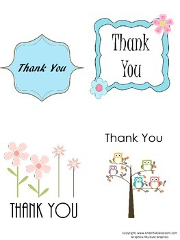 Thank You Card Kit (Wording, Gift List, Printable Cards, and more!)