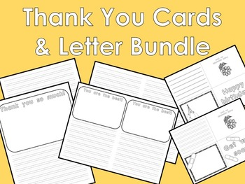 Thank You Card & Letter Bundle