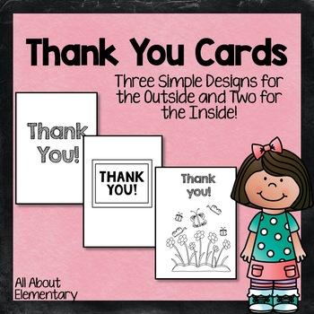Thank You Card Templates