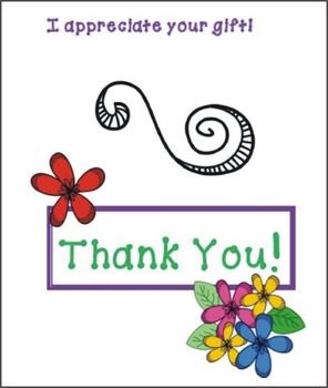 Thank You Card by Nita Marie
