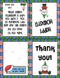 Thank You Card for Holiday Gifts