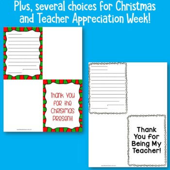 Thank You Cards-Including Instruction on How and When to Write Them