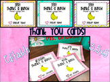 Thank You Cards 3.5x5