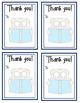 Thank You Cards -- Bear Theme -- Perfect for Teacher Appreciation Week!