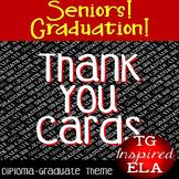 Thank You Cards:Diploma/Graduate--Graduation/Teacher Appreciation/End-of-Year!