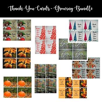 Thank You Cards - Growing Bundle