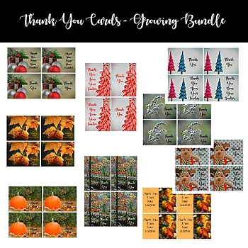 Thank You Cards - Growing Bundle