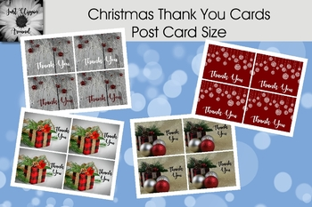 Thank You Cards - Post Card Size