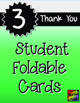 Thank You Cards (S.Malek Freebie)