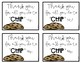 Thank You Cards - Thank you for all you do to CHIP in!