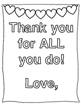 Thank You Cards for Appreciation Day