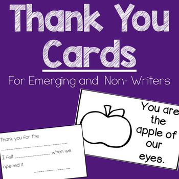 Thank You Cards for Emerging Writers