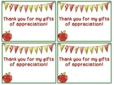 Thank You Cards for Teacher Appreciation Week (Editable)