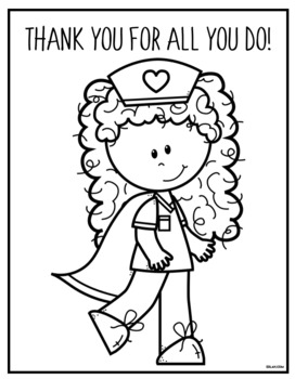 Essential Workers Coloring Pages | Water Education Group | 350x272
