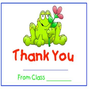 Classroom Management- Thank You/ Appreciation Classbook