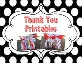 Thank You End of Year Gift Tags