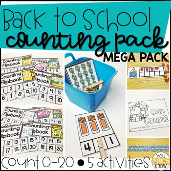 Back to School Counting MEGA Pack