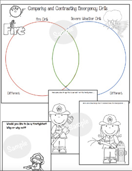 Thank You Firefighters! Fire Safety Writing Prompts