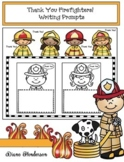 Fire Safety Activities: Thank You Firefighters! Fire Safety Writing Prompts