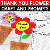 Thank You Flower Writing Craft