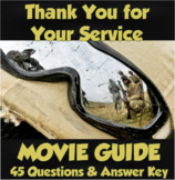 Thank You For Your Service Movie Guide (AP Psychology/U.S. History)