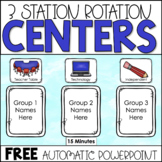 Center Rotation - Thank You Freebie!