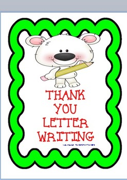 Thank You Letter- Writing