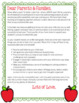 End of Year Letter for Parents: Middle Section is Editable!