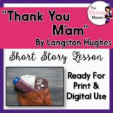 Thank You M'am by Langston Hughes - Print & Digital
