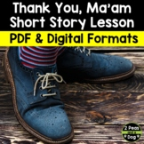 Thank You Ma'am Short Story Lesson | Distance Learning