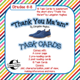 Thank You Ma'am Task Cards